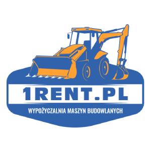 Wynajem minikoparki Poznań - 1Rent